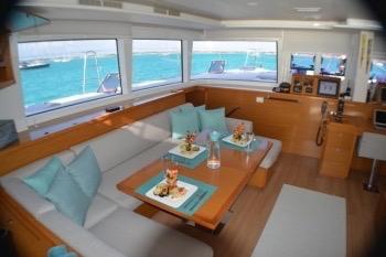 Amura II 450F LAGOON Catamaran - Galley