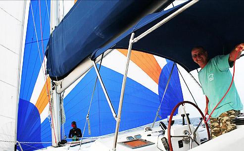 Kapitän Craig Doring Lehre Segeln