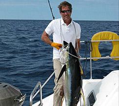 Angeln Wahoo Thunfisch - Kapitän Craig Doring