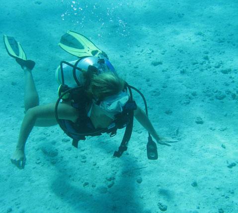 PADI Scuba Tauchen auf den Bahamas