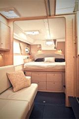 Kiwi Pryde Lagoon 500 Catamran Yacht Cruiser -  Queen Cabin Room