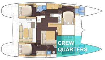 Lagoon 500 Cruising Catamaran Yacht Blueprint