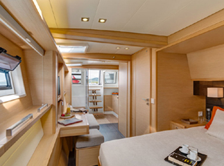 Master Suite On The Tiger Lily, 620 Lagoon Catamaran Yacht