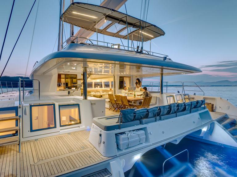 Lagoon 620 Katamaran Segelyacht - Top Deck